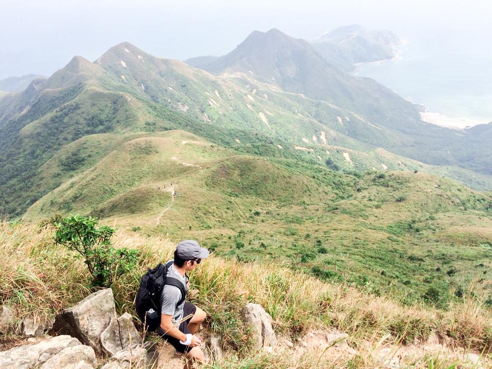 挑战香港第一尖 蚺蛇尖摄影游