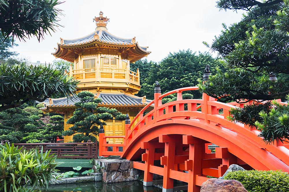 nan lian garden an antique architecture in the bustling city - Nan Lian Garden