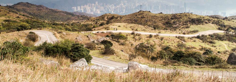 站在香港之巅 大帽山风景摄影游